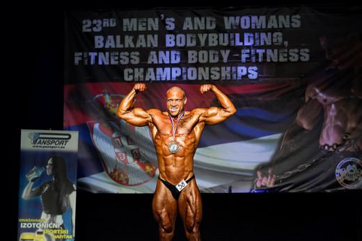 Bodybuilder competition