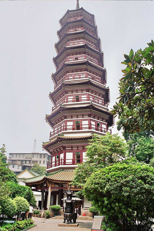 Temple of the Six Banyans, Guangzhou, China