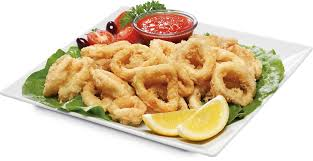 A tasty dish of calamari