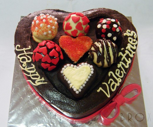 Valentines Day brings on too many temptations such as eating this!