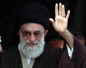 The spiritual leader of Iran, Ayatollah Ali Khamenei