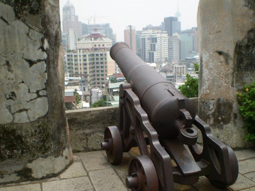 View from Monte Forte, Macau.