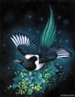Shape shifting tricksters: The Seventh Magpie