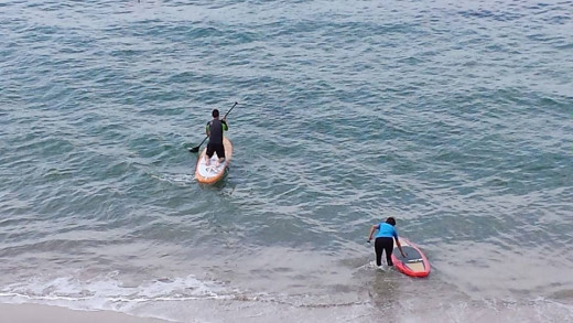 Stand Up Paddleboarding has become a popular sport in many areas, including Southern California.