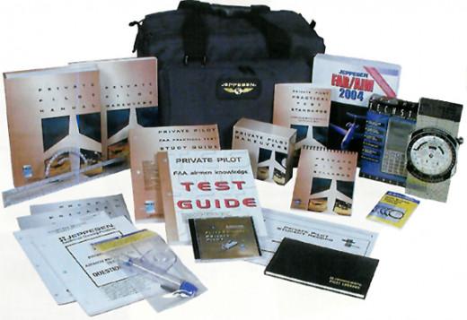 Jeppesen flight kit for training pilots