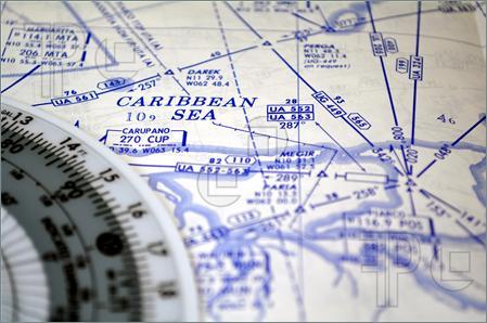 Air navigation map