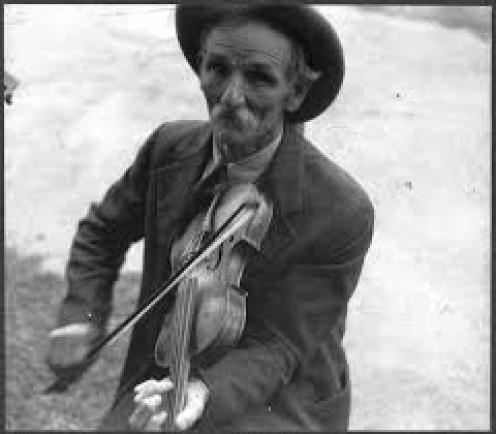 Fiddlin' Bill Hensley, mountain musician