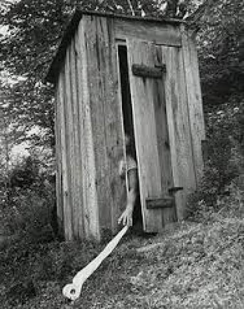 """The """"outdoor plumbing"""""""