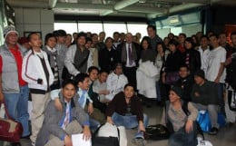 Filipino members part of Costa Concordia crew