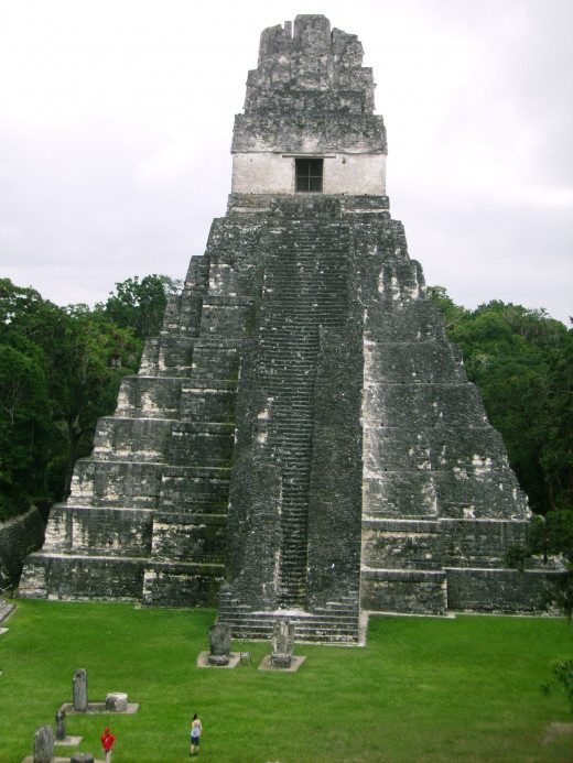This funeral temple dates to around 600 AD It's also Mayan!