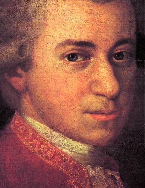 Croce's portrait of Mozart.