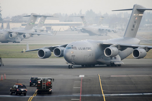 C-17A Globemaster III provides Air Force with an unprecedented capacity for strategic air lift. It allows Australia to rapidly deploy troops, supplies, combat vehicles, heavy equipment and helicopters anywhere in the world.