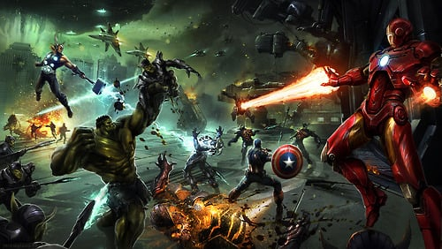 """""""After word spread of Queen Veranke's defeat, the Skrulls began to surrender. The Avengers and other heroes rounded them up and took them into custody."""""""