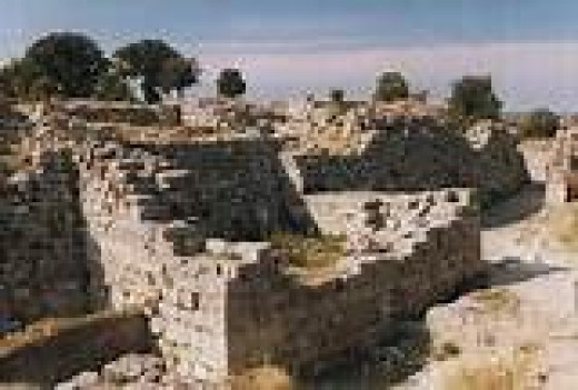 This are the ruins of the city Troy in Turkey. This city was destroyed for the love of a woman, one could say. This is how strong the sexual desires are, they are so strong that when they are not controlled properly, they can bring destruction.