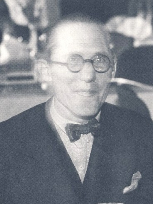 Le Corbusier in 1933