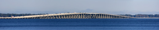 """The Henry Holland Buckman Bridge is the site of the Mug Race finish line. The annual sailboat event is billed as the """"World's Longest River Race"""".  It takes place on St John's River, starting in Palatka at Memorial Bridge and ending in Jacksonville."""