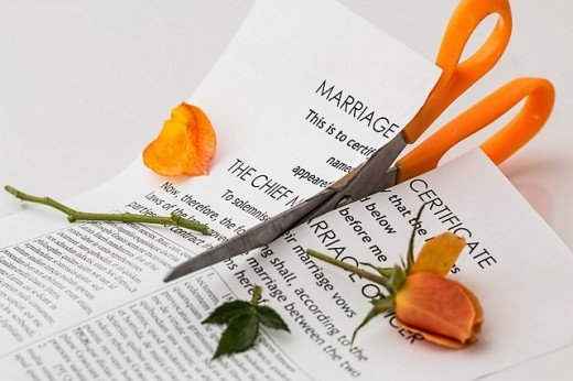 Many weddings unfortunately end up in divorce.  This list gives the reasons most often cited for the relationship failure.  Certain destructive behavior seems to doom a partnership to failure.