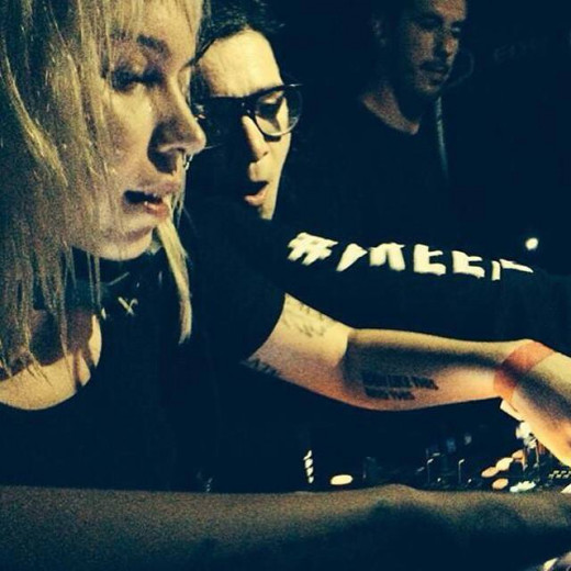 Mija and Skrillex