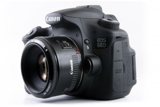 Canon designed the 60D camera to appeal to a broad user base.