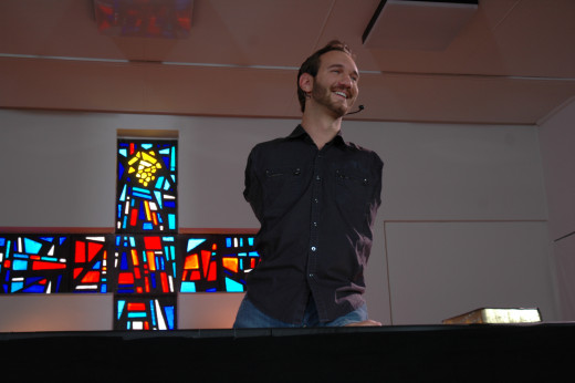 Nick Vujicic has used his disability as an opportunity  to inspire others around the world.