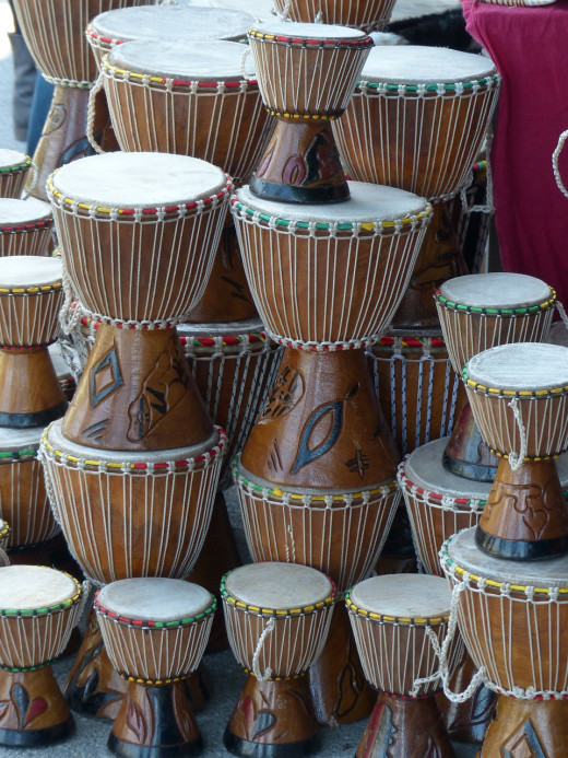 Hand Drums stacked