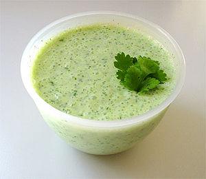 Raita  is an Indian side dish