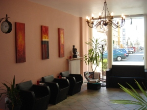 City Hotel Mercator Reception Area