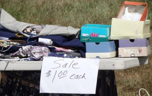 Trash to Cash Sale in Progress