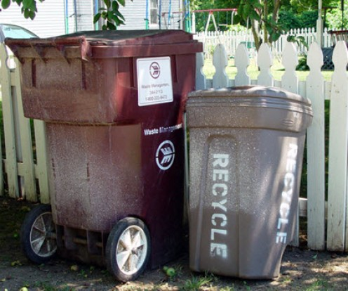 Recycle when you can and what you can
