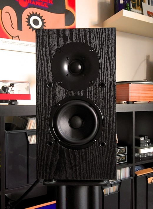 The pioneer Sp Bs22 bookshelf speaker