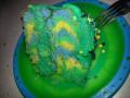 How to make a tye dye Cake