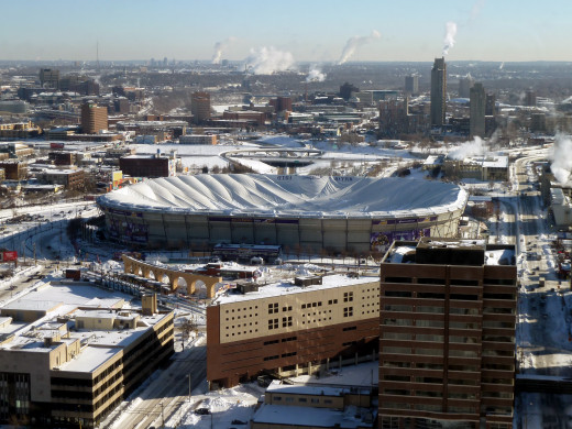 The Metrodome was finally demolished in early 2014.