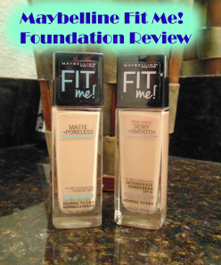 Maybelline Fit Me Foundation Dewy Smooth