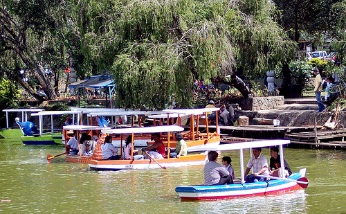 Boating at the Burnham Park