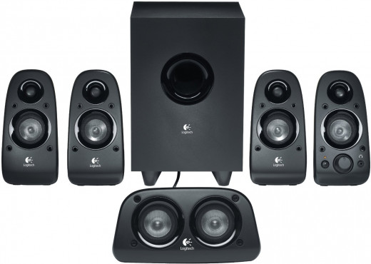 The Logitech Z506 comes with high quality satellite speakers to deliver a complete sound experience.