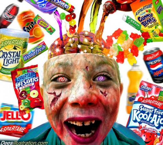 A child's brain is particularly vulnerable to toxic chemicals in food, and most of this garbage is specifically marketed to kids.