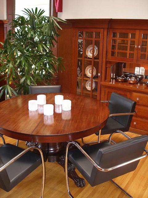 Dining room after restoration