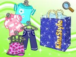 Get exclusive outfits and special designer clothes for your Webkinz in the KinzStyle shop!