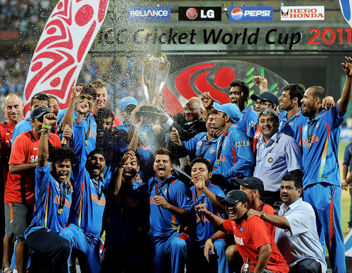 Team India won World Cup 2011