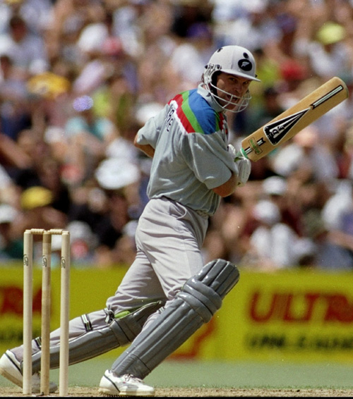 Martin Crowe, the New Zealand cricketer, won the player of the tournament scoring 456 runs in the 1992