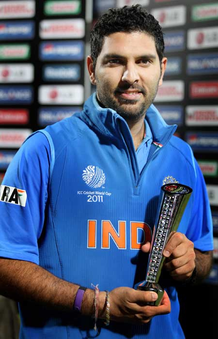 Yuvraj Singh in the 2011 World Cup by scoring 362 runs and taking 15 wickets