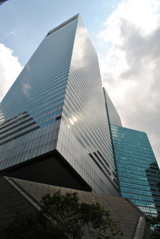 Manhattan's Citigroup Center features an unusual design, to say the least.