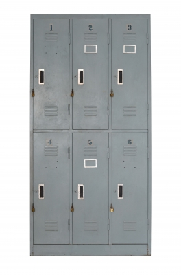 Lockers. Published on 11 May 2013 Stock photo - Image ID: 100165566