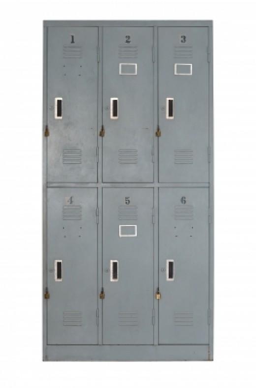 Lockers. Published on 11 May 2013 Stock photo - Image ID: 100165566