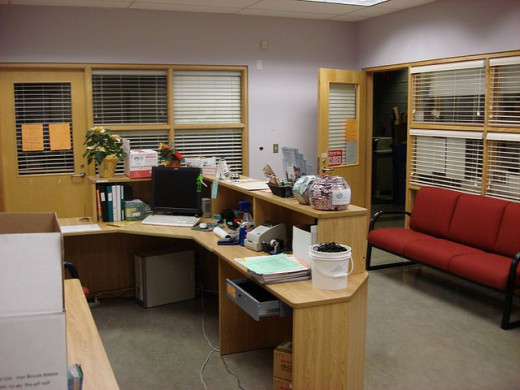 Front office restored