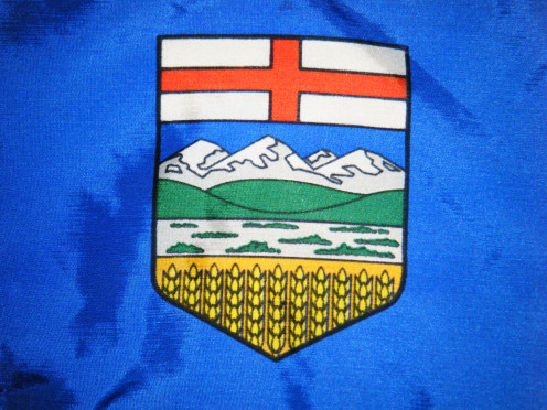 Provincial flag of Alberta