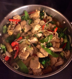 Easy Chicken Vegetable Stir-Fry