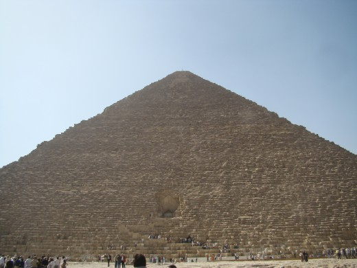 The Great Pyramid of Ghiza is without a doubt Khufu's most lasting achievement.