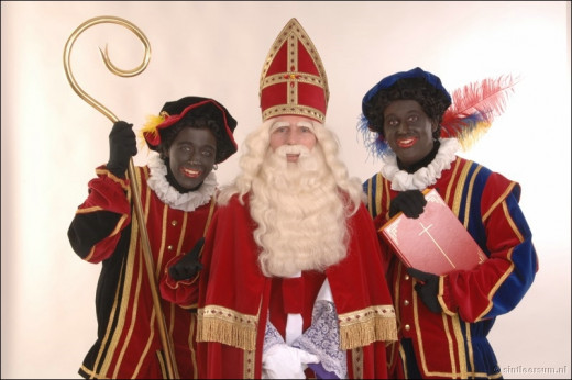 Zwarte Pete or Black peter is part of the Dutch tradition on December 5th where the character gives entertains children according to story, Sinnterklass