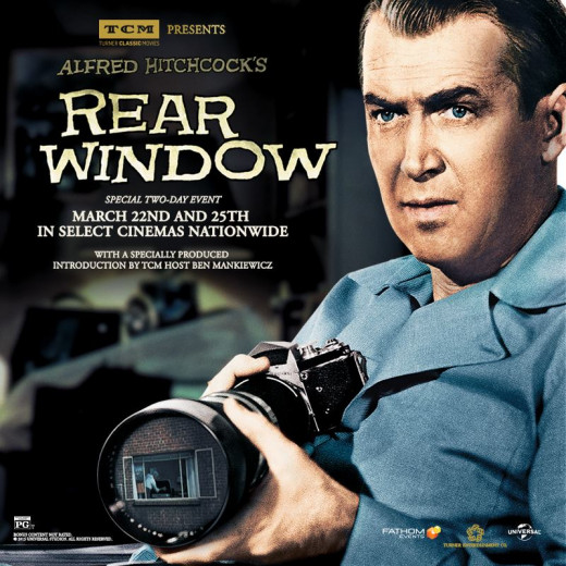 "Generally considered one of Alfred Hitchcock's best directorial efforts, ""Rear Window"" tackled the subject of secretly watching people."